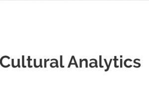 Cultural Analytics